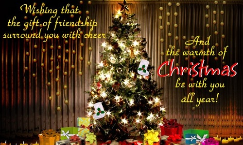 friendship christmas wishes