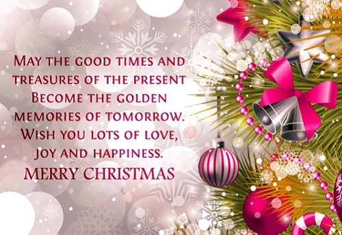golden memories of tomorrow christmas wishes