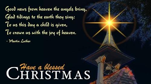good news christmas wishes