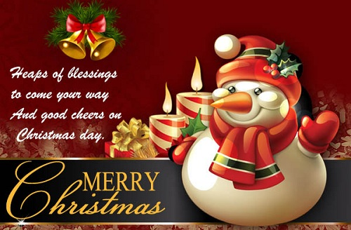 heaps of blessings christmas wishes