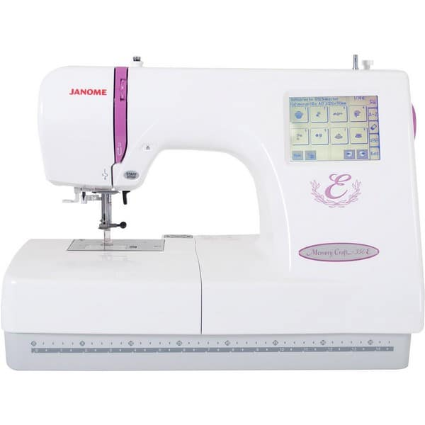 Janome 350E Embroidery Machine Software