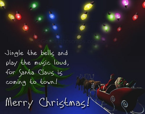 jingle bells christmas wishes
