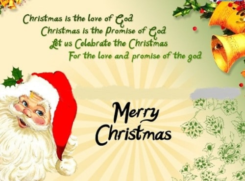love and promise christmas wishes
