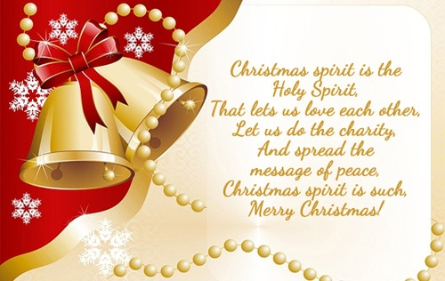 message of peace christmas wishes