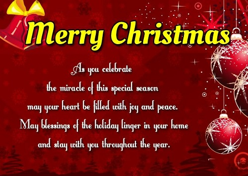 miracle of this special season christmas wishes