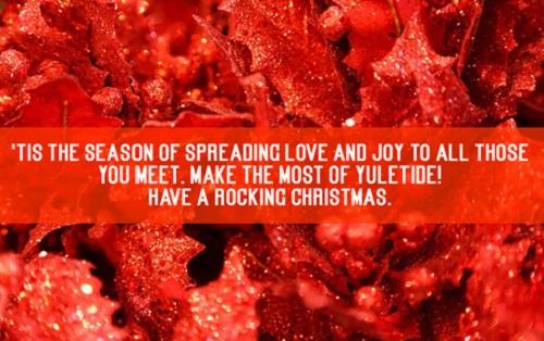 rocking christmas wishes