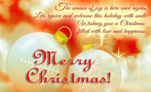 season of joy christmas wishes