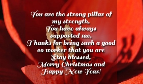 strong pillar christmas wishes