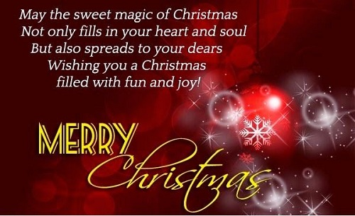 sweet magic christmas wishes