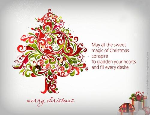 sweet magic chrsitmas wishes