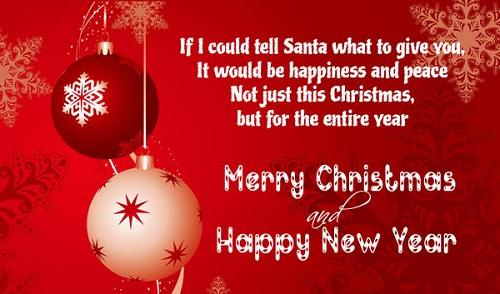 tell santa christmas wishes