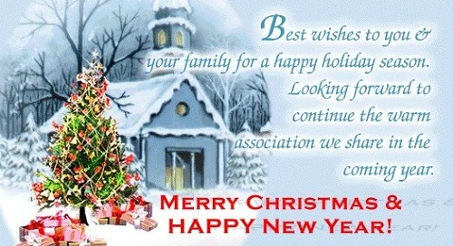 warm association christmas wishes