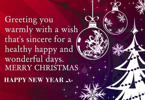 wonderful days christmas wishes