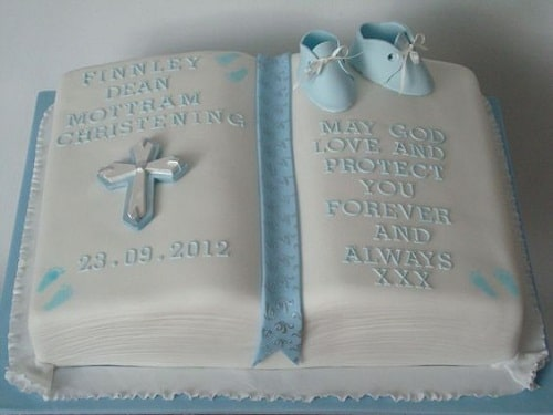 Brown Bible Cake