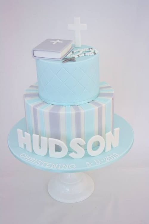 Christening Cake Cakes For Boys