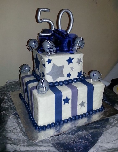 Dallas Cowboy 50th Birthday Cakes For Men
