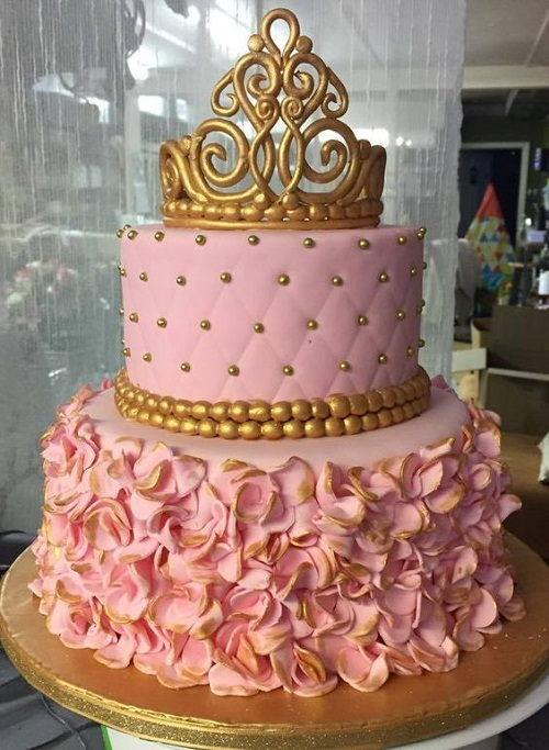 Birthday Cakes for Girls, Pink Cake