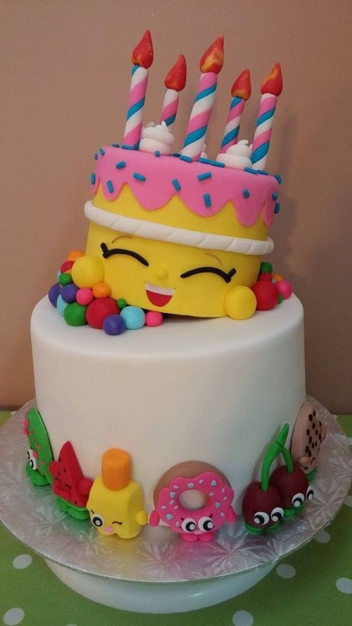 Cake Designs Birthday 2018 : 37 Unique Birthday Cakes for Girls with Images [2018]