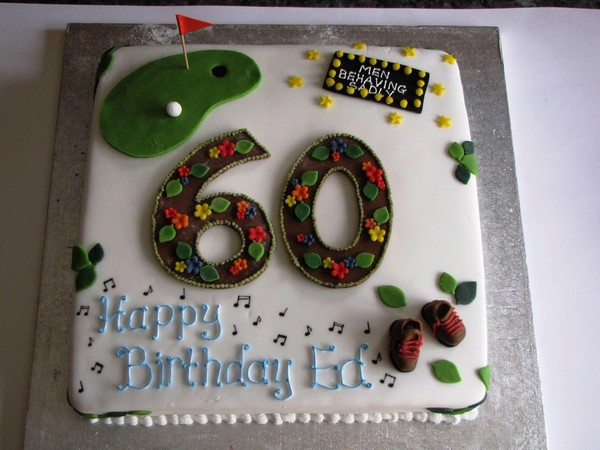 60Th Birthday Cakes For Men