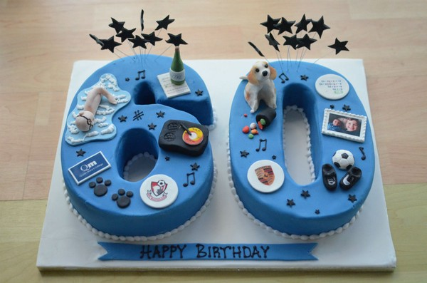 24 Birthday Cakes for Men of Different Ages - My Happy Birthday Wishes