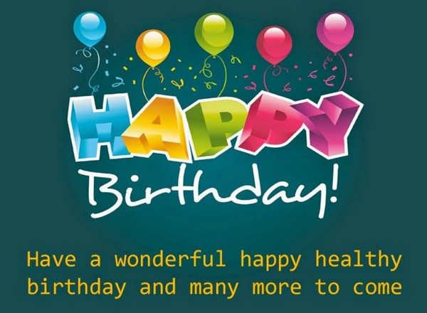 cute birthday wishes – Special Birthday Greeting