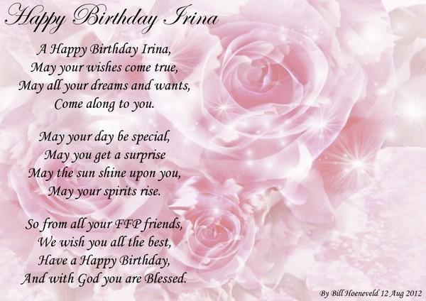 Best Friend Birthday Poems For Her