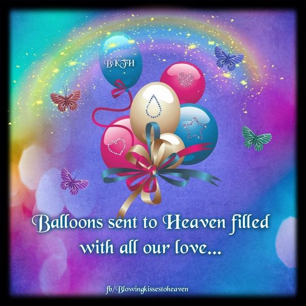 Happy birthday in heaven wishes quotes images - 72 Beautiful Happy Birthday In Heaven Wishes My Happy