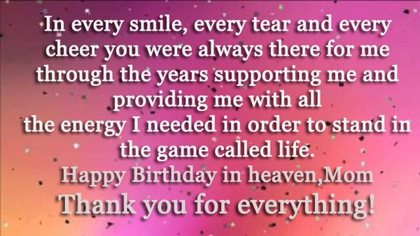 Birthday Wishes In Heaven For Brother