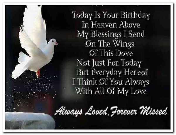 Birthday Wishes In Heaven For Sister