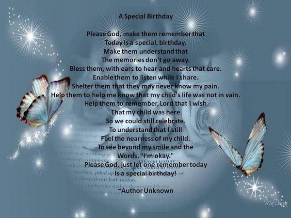 72 Beautiful Happy Birthday in Heaven Wishes- My Happy ...