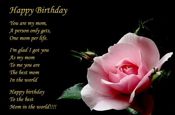 72 Beautiful Happy Birthday in Heaven Wishes My Happy Birthday – Birthday Greetings to My Mom