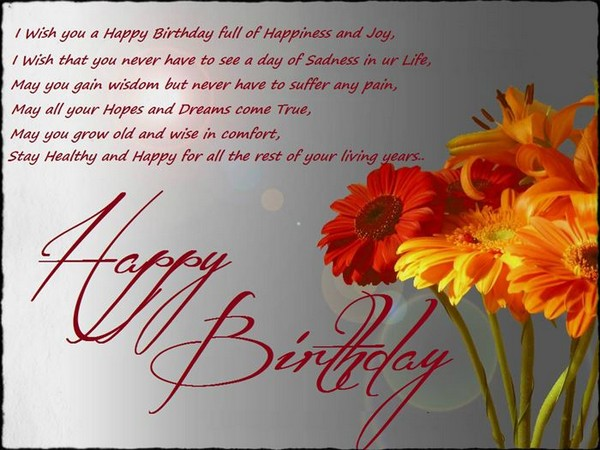 Cute Birthday Wishes Happy Birthday Wish You All The Best In