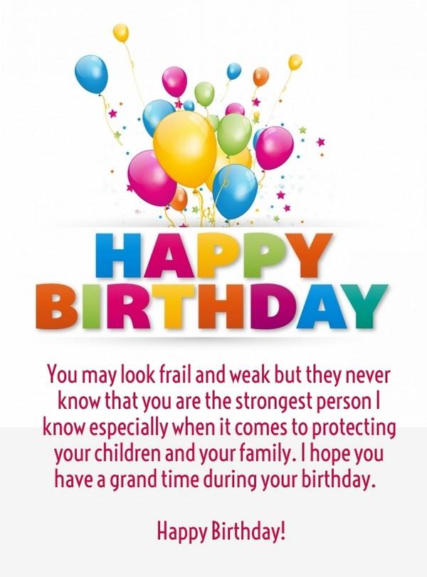 Cute Happy Birthday Mom Quotes