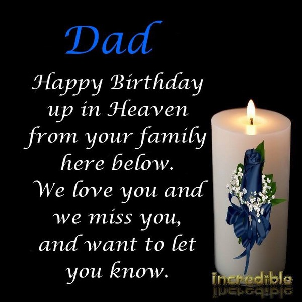 Free Birthday Wishes In Heaven