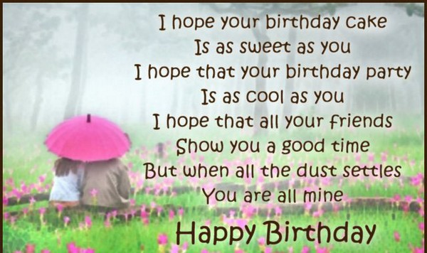 Funny Happy Birthday Poems