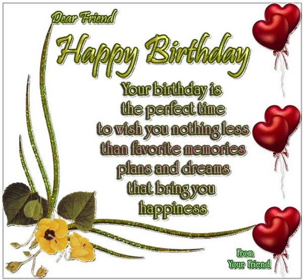 best happy birthday poems  my happy birthday wishes, Birthday card