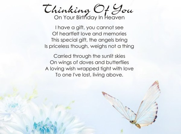 Happy Birthday Mom In Heaven Sayings