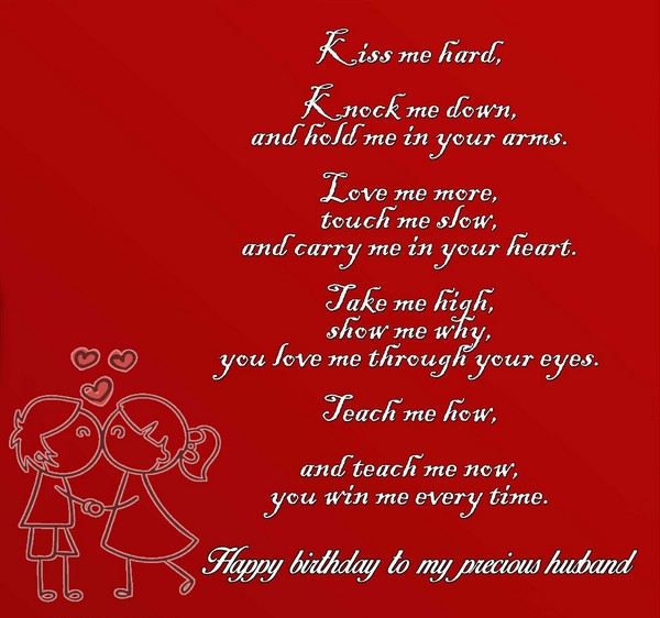 Happy Birthday Poems For Him Cute Poetry For Boyfriend Or: 52 Best Happy Birthday Poems