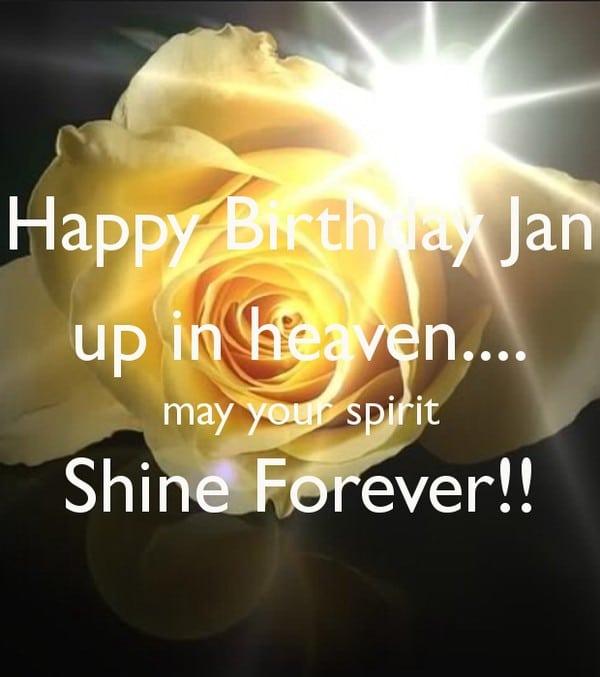 Happy Birthday Up In Heaven