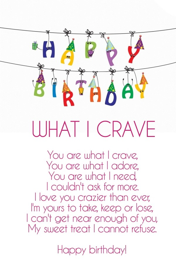 Romantic Birthday Poems For Wife