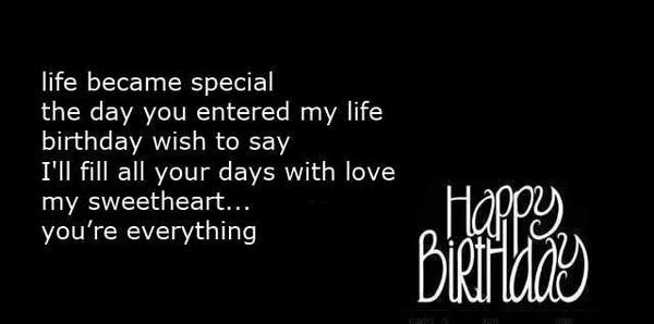 Romantic Happy Birthday Poems
