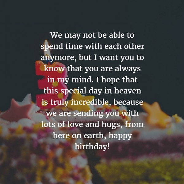 I Want To Cuddle With You Quotes: 72 Beautiful Happy Birthday In Heaven Wishes