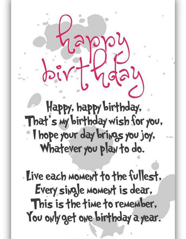Best Happy Birthday Poems For Mother In Law