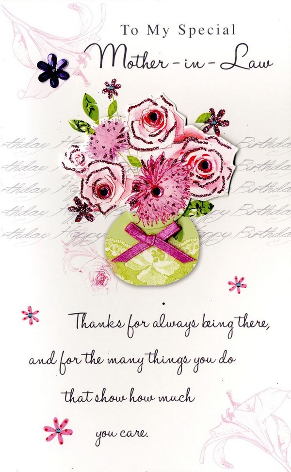 47 Happy Birthday Mother in Law Quotes My Happy Birthday Wishes – Birthday Card for My Mother