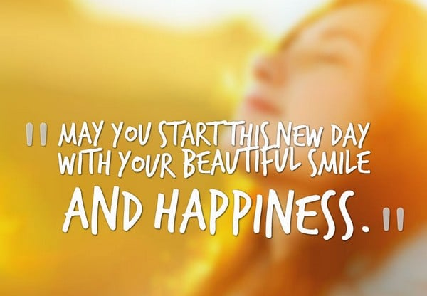 Exceptional May You Start This New Day With Your Beautiful Smile And Happiness. Good  Morning Funny Quotes