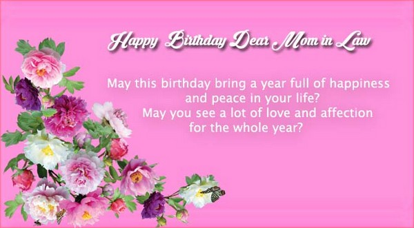 47 Happy Birthday Mother in Law Quotes My Happy Birthday Wishes – Happy Birthday Mom Greetings