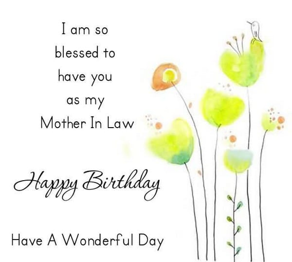 Happy Birthday To My Mother In Law In Heaven