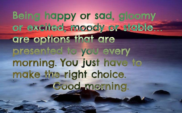 Inspirational Good Morning Greetings Wallpaper