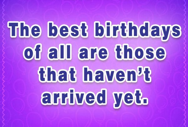 Famous Birthday Quotes