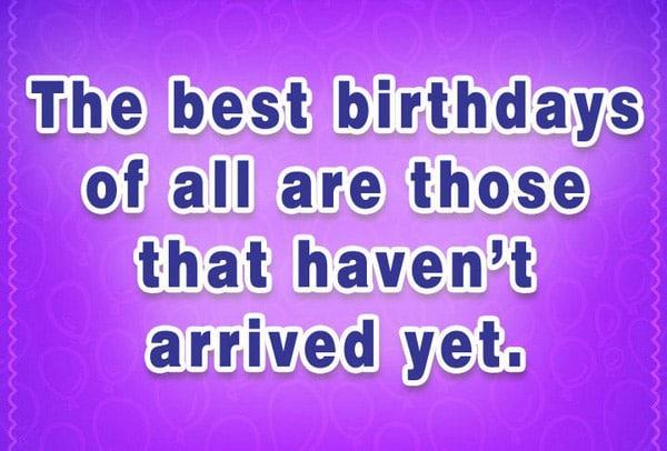 Famous Birthday Quotes
